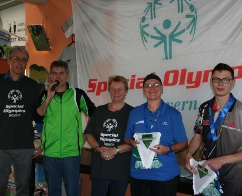 5. Special Olympics Bayern Bowlingturnier in Rosenheim
