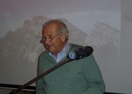 Vortrag zur Planung, Bau und Betrieb der Bahn von Herrn Hans Vogt, frühere Betriebsleiter der Wendelsteinbahn