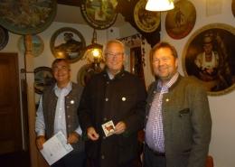 Die drei besten Schützen waren am Ende Dr. Mario Voit (Gold), Dr. W. Bauer (Silber) und Walter Schatt (Bronze).