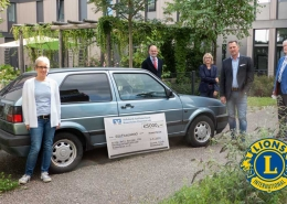 Lions Club Rosenheim übergibt großzügige Geldspende